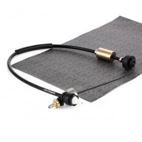478S0043 RIDEX Länge: 960/660mm Seilzug, Kupplungsbetätigung 478S0043 günstig kaufen