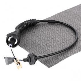 478S0049 RIDEX Nachstellung: mit automatischer Nachstellung Seilzug, Kupplungsbetätigung 478S0049 günstig kaufen