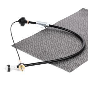 478S0045 RIDEX für Linkslenker Seilzug, Kupplungsbetätigung 478S0045 günstig kaufen