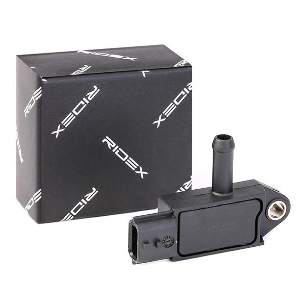 RIDEX | Sensor, Abgasdruck 4272S0002