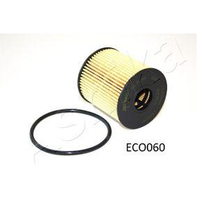 10ECO060 Ölfilter ASHIKA 10-ECO060 - Große Auswahl - stark reduziert