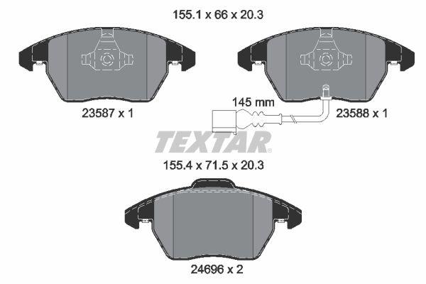 2469602 Bremsklötze TEXTAR Erfahrung
