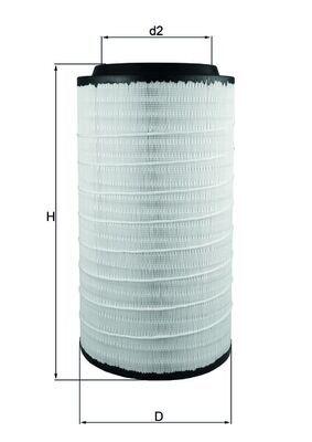 LX 3889 KNECHT Luftfilter billiger online kaufen