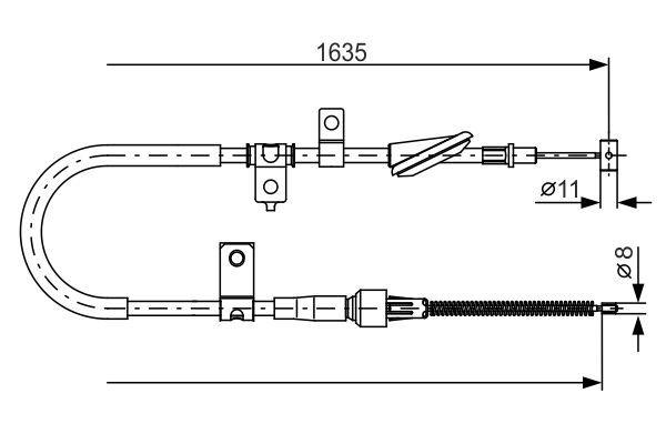 N5931 BOSCH Filtr przewodowy Wys.: 133[mm] Filtr paliwa 0 450 905 931 kupić niedrogo
