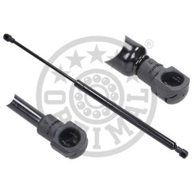 AG-40160 OPTIMAL Ausschubkraft: 530N Hub: 189mm Heckklappendämpfer / Gasfeder AG-40160 günstig kaufen