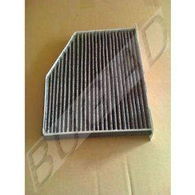 BSP20602 BUGIAD Aktivkohlefilter Breite: 312mm Filter, Innenraumluft BSP20602 günstig kaufen