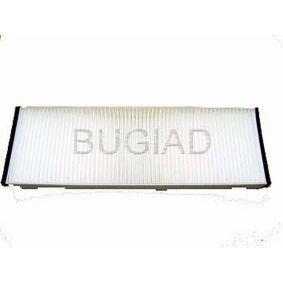 BSP20655 BUGIAD Pollenfilter Breite: 100mm, Höhe: 30mm, Länge: 307mm Filter, Innenraumluft BSP20655 günstig kaufen