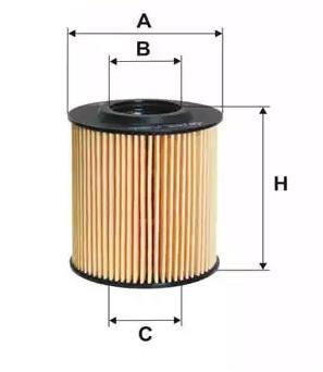 Motorölfilter BUGIAD BSP23217