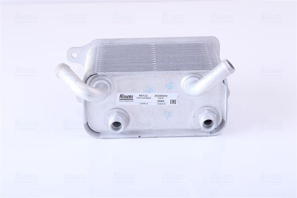 NISSENS Ölkühler, Automatikgetriebe 90722