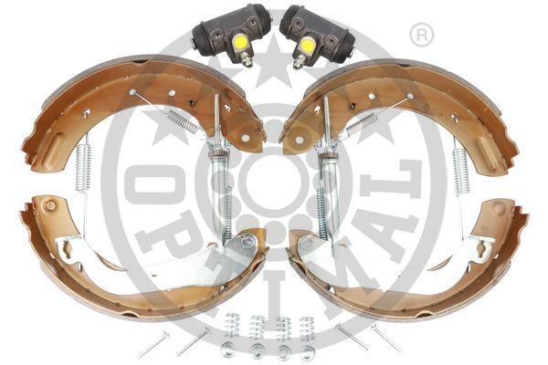 NISSAN VANETTE 2010 Bremsensatz, Trommelbremse - Original OPTIMAL BK-5219