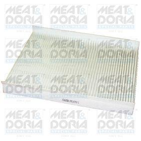 17101 MEAT & DORIA Pollenfilter Breite: 177mm, Höhe: 20mm, Länge: 232mm Filter, Innenraumluft 17101 günstig kaufen