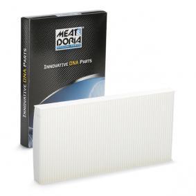 ostke ja asendage Filter, salongiõhk MEAT & DORIA 17113