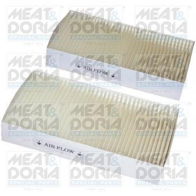 17133-X2 MEAT & DORIA Pollenfilter Breite: 96mm, Höhe: 30mm, Länge: 180mm Filter, Innenraumluft 17133-X2 günstig kaufen