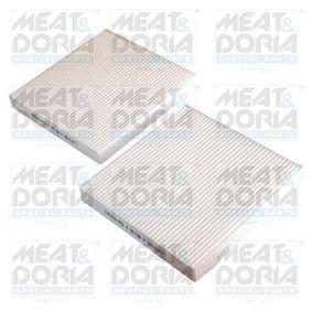 Koop en vervang Interieurfilter MEAT & DORIA 17533-X2