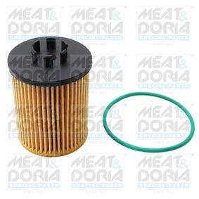 14002 MEAT & DORIA Innendurchmesser: 9,3mm, Ø: 62mm, Höhe: 88mm Ölfilter 14002 günstig kaufen