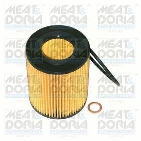14014 MEAT & DORIA Innendurchmesser: 43mm, Ø: 83mm, Höhe: 105mm Ölfilter 14014 günstig kaufen