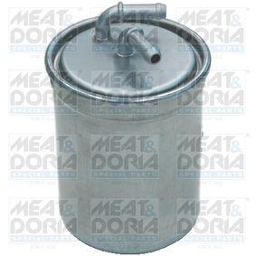 4843 MEAT & DORIA Höhe: 129mm Kraftstofffilter 4843 günstig kaufen