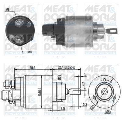 MEAT & DORIA: Original Magnetschalter Starter 46004 ()