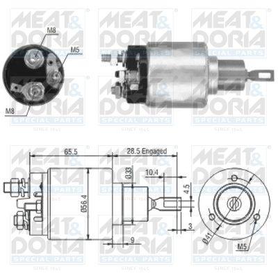 Original Startin solenoidi 46019 Citroen