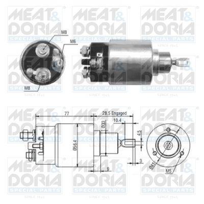 MEAT & DORIA: Original Magnetschalter Anlasser 46028 ()