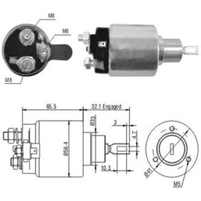 buy and replace Solenoid Switch, starter MEAT & DORIA 46065