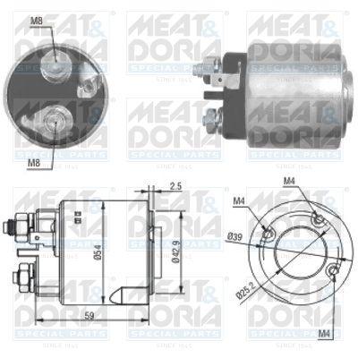 MEAT & DORIA: Original Magnetschalter Anlasser 46160 ()