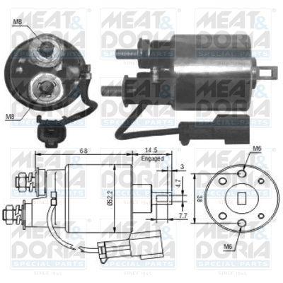 MEAT & DORIA: Original Magnetschalter Anlasser 46175 ()