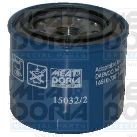 MEAT & DORIA: Original Ölfilter 15032/2 (Ø: 81,5mm, Höhe: 74mm)