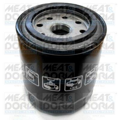 Hyundai TIBURON 2001 Oil filter MEAT & DORIA 15069: Screw-on Filter