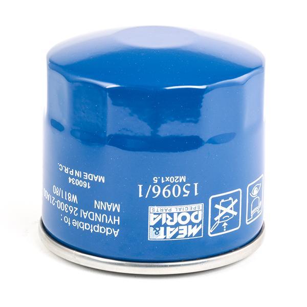 150961 Motorölfilter MEAT & DORIA 15096/1 - Große Auswahl - stark reduziert