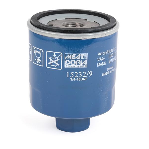 152329 Motorölfilter MEAT & DORIA 15232/9 - Große Auswahl - stark reduziert