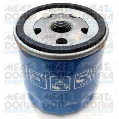 MEAT & DORIA: Original Motorölfilter 15312/3 (Ø: 76mm, Höhe: 79mm)