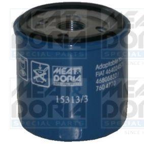 15313/3 MEAT & DORIA Anschraubfilter Ø: 76mm, Höhe: 79mm Ölfilter 15313/3 günstig kaufen