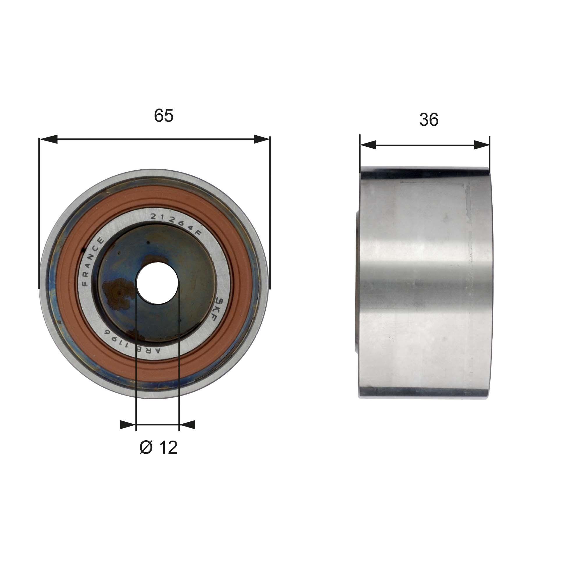 778621529 GATES BOOST™ CVT Belt Umlenkrolle Zahnriemen T42185 günstig kaufen