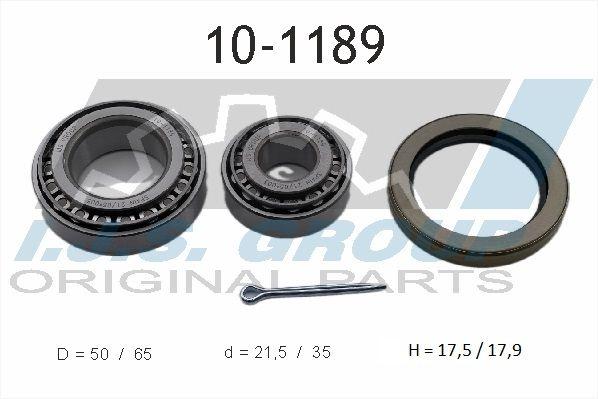 Car spare parts VW TARO 1997: Wheel Bearing Kit IJS GROUP 10-1189 at a discount — buy now!
