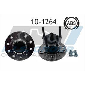 10-1264 IJS GROUP Hinterachse, links, rechts, mit integriertem ABS-Sensor Ø: 140mm Radlagersatz 10-1264 günstig