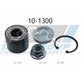 10-1300 IJS GROUP Hinterachse, links, rechts Ø: 55mm, Innendurchmesser: 25mm Radlagersatz 10-1300 günstig kaufen