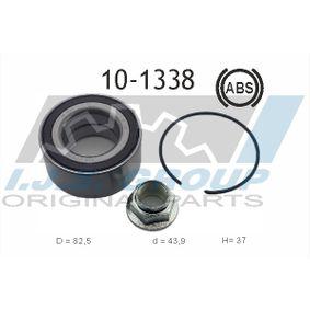 2 x SKF Radlagersatz mit ABS-Sensor VKBA 3603 Hinterachse