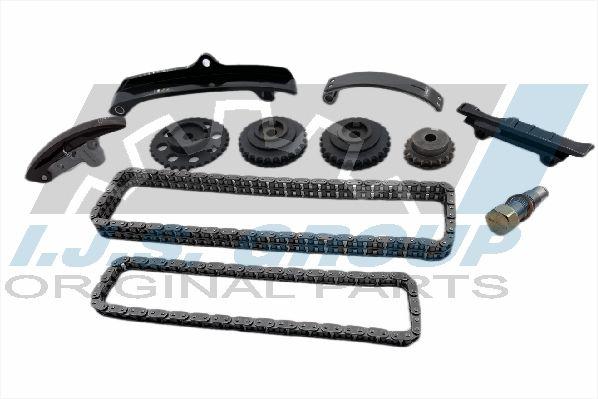 10-1350 IJS GROUP Hinterachse, links, rechts, mit integriertem ABS-Sensor Ø: 129mm, Innendurchmesser: 32mm Radlagersatz 10-1350 günstig kaufen