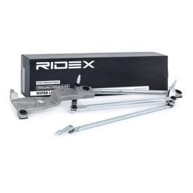 Купете 300W0005 RIDEX за автомобили с ляв волан, челно стъло на автомобила, отпред, без електромотор Лостов механизъм на чистачките 300W0005 евтино