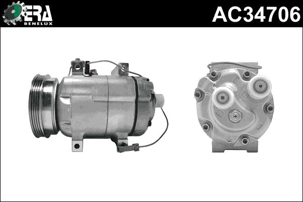 Kompressor Klimaanlage ERA Benelux AC34706