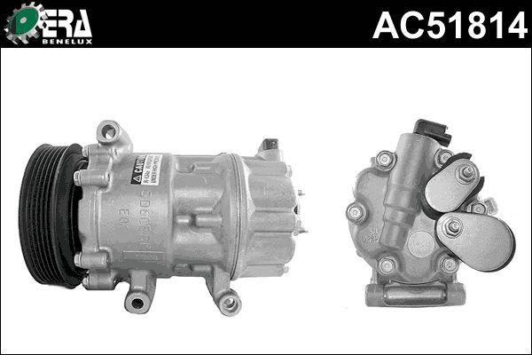 Original PEUGEOT Kompressor Klimaanlage AC51814