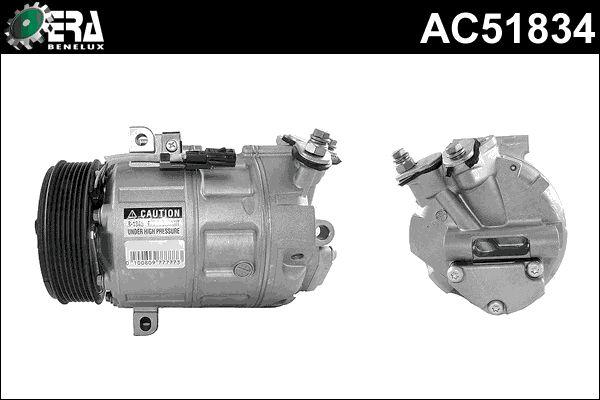 Original RENAULT Kompressor Klimaanlage AC51834