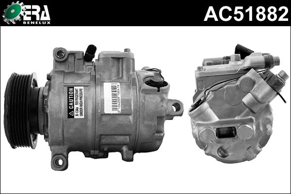 Original VW Kompressor Klimaanlage AC51882