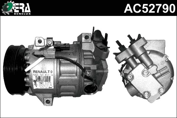 Original RENAULT Kompressor AC52790