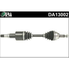 DA13002 ERA Benelux Vorderachse links Länge: 636mm, Außenverz.Radseite: 27 Antriebswelle DA13002 günstig kaufen