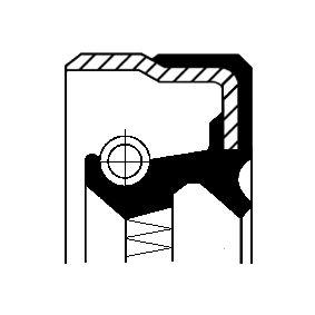 Kúpte a vymeňte Tesniaci krúżok hriadeľa diferenciálu CORTECO 01037214B