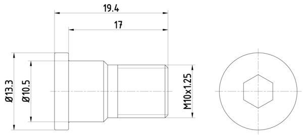 TEXTAR: Original Schraube, Bremsscheibe TPM0007 ()