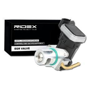 RIDEX eléctrico, con junta Válvula AGR 1145E0062 a buen precio