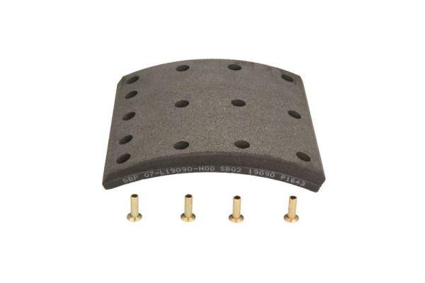 SBP Bremsbelagsatz, Trommelbremse für RENAULT TRUCKS - Artikelnummer: 07-L19090-N00